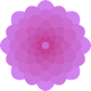 Botanical, Dahlia, nature, petals, blossom, Flower Orchid icon