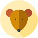 rodent, Mouse, Animals, Animal Kingdom, Wild Life Moccasin icon