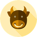 Animal Kingdom, zoo, Wild Life, buffalo, Animals Moccasin icon