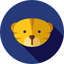 Tiger, Animal Kingdom, Wild Life, Animals, zoo MidnightBlue icon