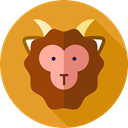 Animals, Sheep, zoo, Animal Kingdom, Wild Life Goldenrod icon