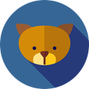 pet, Breed, Animal, dog, Animals SteelBlue icon