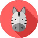 Animal Kingdom, zoo, Animals, Zebra, Wild Life Icon