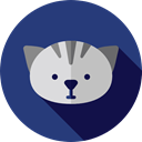 pet, Animal, Breed, Animals, Cat DarkSlateBlue icon