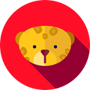 Animals, Animal Kingdom, Wild Life, zoo, leopard Crimson icon