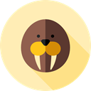 zoo, Animal Kingdom, seal, Wild Life, Animals Moccasin icon