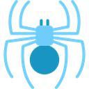 insect, Animal Kingdom, Animals, spider, Arachnid LightSkyBlue icon