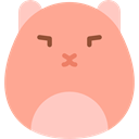 rodent, Animals, pet, hamster LightSalmon icon
