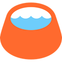 water, Pet Shop, Bowl, Food And Restaurant, pet Tomato icon