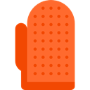 Beauty, Pet Shop, Grooming Glove Tomato icon