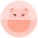 Hamster Ball, Pet Shop, Animals, rodent, play Pink icon
