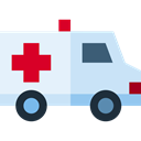 Ambulance, vehicle, Automobile, medical, Healthcare And Medical, transportation, transport, emergency Lavender icon