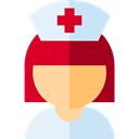 Healthcare And Medical, Professions And Jobs, Avatar, Medical Assistance, hospital, woman, user, Nurse Lavender icon