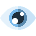 Healthcare And Medical, view, Eye, medical, visible, Visibility, interface Lavender icon