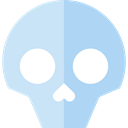 dangerous, signs, Dead, Healthcare And Medical, Poisonous, medical, skull Lavender icon