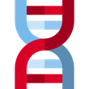 Genetical, medical, Biology, Healthcare And Medical, science, education, Deoxyribonucleic Acid, Dna Structure, dna Black icon