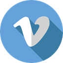 Logos, Logo, Vimeo, Brands And Logotypes, social network, logotype, social media CornflowerBlue icon