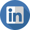Brand, Logo, Linkedin, logotype, social media, social network, Brands And Logotypes SteelBlue icon