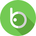Logo, social media, Logos, social network, logotype, Brands And Logotypes, Badoo YellowGreen icon