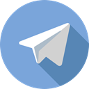 Logo, Logos, logotype, social network, social media, Brands And Logotypes, telegram CornflowerBlue icon
