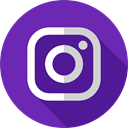 logotype, social media, Brand, Logo, Brands And Logotypes, social network, Instagram DarkOrchid icon
