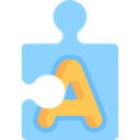 Kid And Baby, Puzzle, education, Puzzle Game, Puzzle Pieces, puzzle piece LightSkyBlue icon