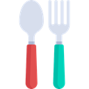Fork, spoon, Cutlery, Restaurant, Tools And Utensils, Food And Restaurant Black icon