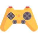 Kid And Baby, gaming, joystick, video game, technology, gamer, Multimedia, gamepad, game controller SandyBrown icon