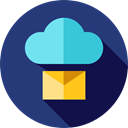 mails, envelope, envelopes, Email, Message, interface, Communications, Multimedia, mail MidnightBlue icon