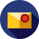 Message, interface, envelopes, mails, envelope, Multimedia, Communications, mail, Email Icon