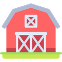 real estate, buildings, Barn, Farm, gardening Tomato icon