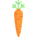 vegetable, vegetarian, vegan, organic, Carrot, diet, Healthy Food, food Black icon