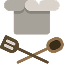 Tools And Utensils, Restaurant, Chef, Cooker, Food And Restaurant, Chef Hat, spoon DarkGray icon