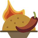 spice, Lunch, Spicy Food, food, Food And Restaurant, meal, pepper Peru icon