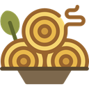 Italian Food, food, Pasta, noodles, Food And Restaurant, Spaguetti Sienna icon