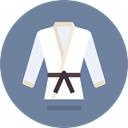 oriental, sports, Sports And Competition, Asian, Judo, Martial Arts, Kimono, Karate LightSlateGray icon