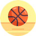 Basketball, equipment, Sport Team, Sports And Competition, sports, team Khaki icon