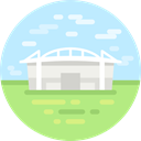 Arena, Olympic Games, Sports And Competition, stadium PaleTurquoise icon