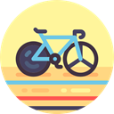 cycling, Bicycle, sports, Sports And Competition, transportation, transport, vehicle, exercise, Bike, sport Khaki icon