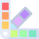 paint, Color palette, pantone, Edit Tools, Painter, miscellaneous, Paints, Colors Lavender icon