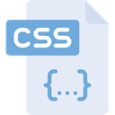 css file, Css Format, Css File Format, Css Symbol, Files And Folders, Css, interface Lavender icon