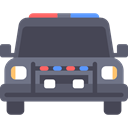 security, Car, vehicle, transportation, Police Car, transport, Automobile, emergency DarkSlateGray icon