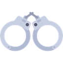 Policeman, security, Handcuffs, Arrest, Prision, Tools And Utensils, jail Black icon
