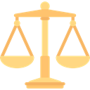 justice, libra, zodiac, judge, Balance, law, Tools And Utensils, Balanced Black icon