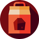 fire, Cook, Flame, Cooking, Coal, Combustible, miscellaneous Maroon icon