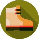 Boot, Climbing, fashion, footwear, Clothes Olive icon