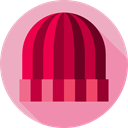 Wool, Beanie, Cold, fashion, Cozy LightPink icon