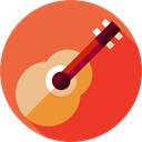music, String Instrument, Orchestra, Acoustic Guitar, guitar, musical instrument, Music And Multimedia Tomato icon