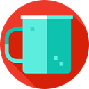 Coffee, Chocolate, Tea Cup, food, hot drink, Food And Restaurant, mug, coffee cup, cup Firebrick icon
