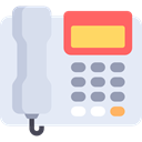 Device, Conversation, phone call, technology, Communications, electronic, telephone, electronics Lavender icon